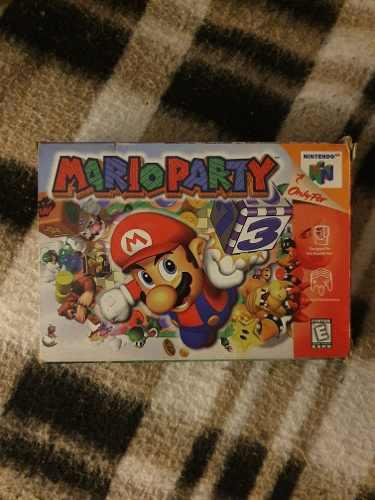 Juego Para Consola Nintendo 64 N64 Mario Party En Caja