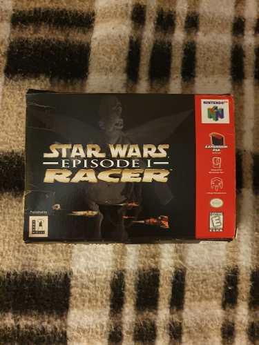 Juego Para Consola Nintendo 64 N64 Star Wars Racer Episode 1