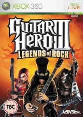 Juego Xbox 360 Guitar Hero Iii Legends Of Rock Usado