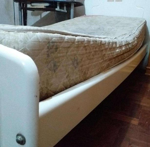Cama cuna funcional sin baulera (Rosario)