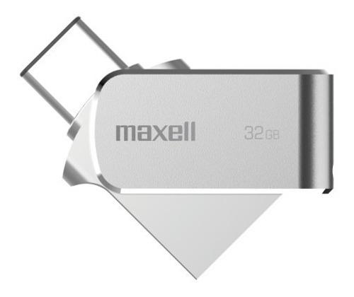 Pen Drive 32gb Maxell Usb 3.0 Tipo C Otg Celular Win Y Mac