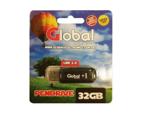 Pen Drive Usb Global 32 Gb Usb 2.0 Memoria Micro Flash Drive