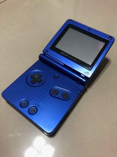Consola Game Boy Advance Sp Modelo Ags-001 + Accesorios