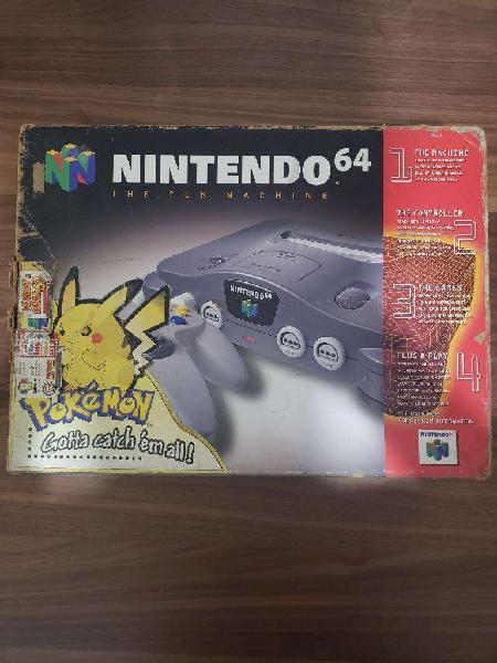 Vendo Nintendo 64 con Su Caja Original
