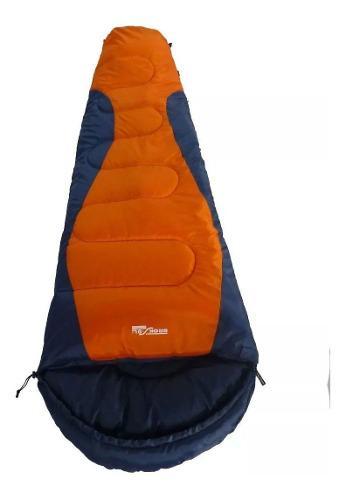 Bolsa De Dormir Broksol Olivo 250 Camping Termica 0° Carpa