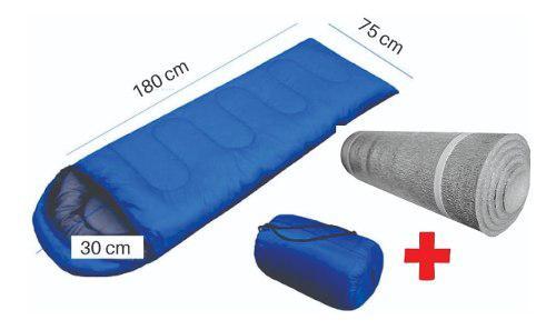Bolsa De Dormir Termica 0 C° + Aislante Grande Chanodug Rc