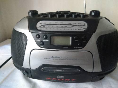 Radio Grabador Cd Cassette Am Fm