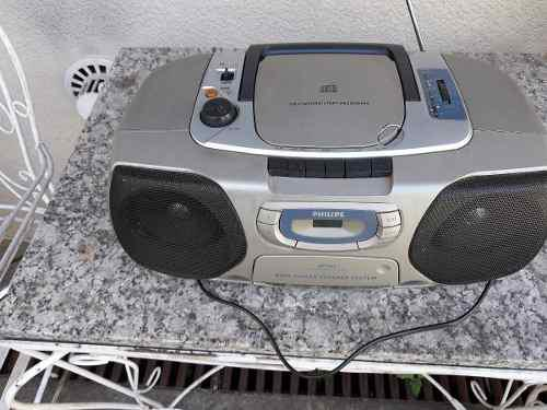 Radiograbador Philips Cd, Cassette, Radio Am/fm Az 1010/01