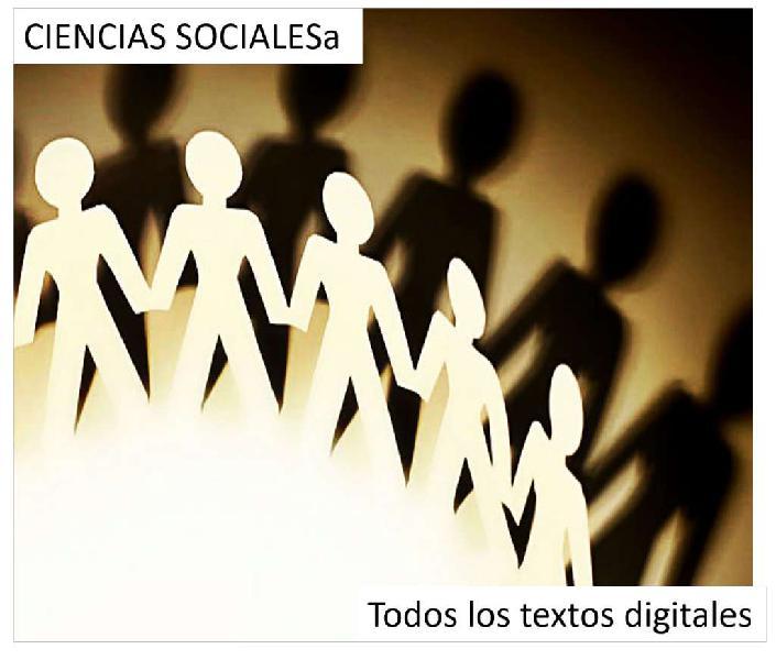 Textos Ciencias Sociales en formato digital