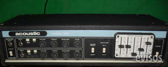 Amplificador de bajo acoustic 320 en Ramos Mejía