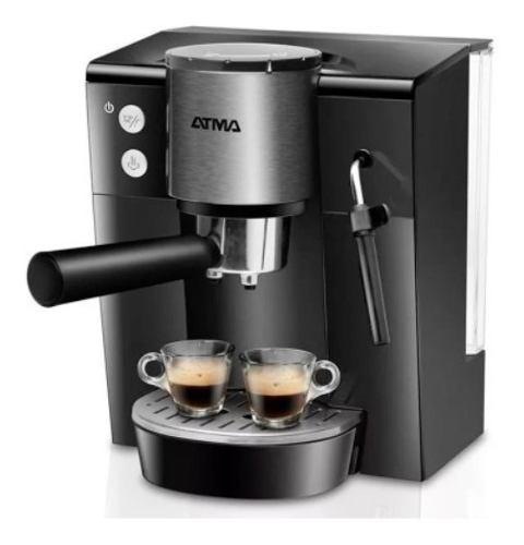 Atma Ca9196xe Cafetera Expreso Digital 18 Bares Filtro Vapor