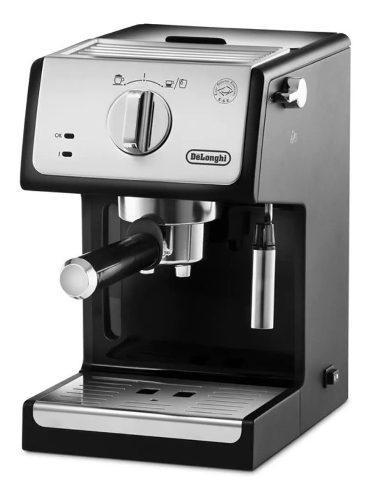 Cafetera Expres Delonghi Ecp 33.21 Inox Y Negro Envío