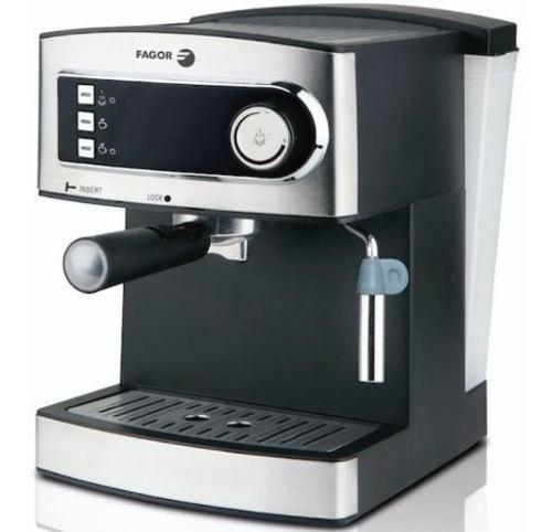 Cafetera Express Con Espumador Fagor 850 Watts 1,6 Lts