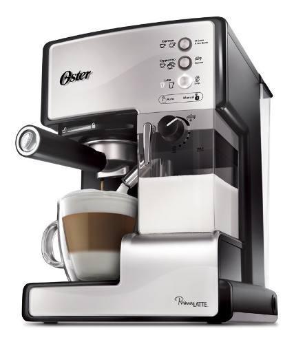 Cafetera Express Oster Prima Latte Bvstem6601s 15 Bares 1.5l