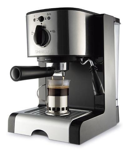 Cafetera Expresso Smartlife Sl-ec4637 15 Bares 1350 Watts