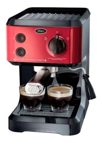 Cafetera Oster Cmp65r Express Capsulas Nespresso 19 Bar Gtia
