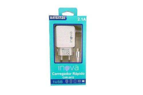 Cargador Micro Usb 2.1a Carga Rápida Usb Inova