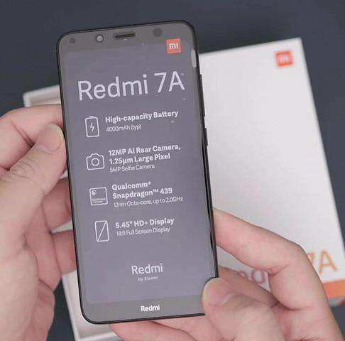 Celular Xiaomi Redmi 7a 16 Gb 2 Gb Ram 4g Lte Bateria 4000