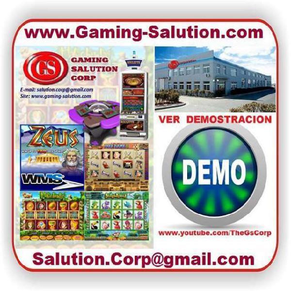 Fabrica consolas, tragamonedas, video juegos, buenos aires,