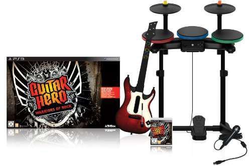 Guitar hero warriors of rock band/ consola /ps3 / juegos