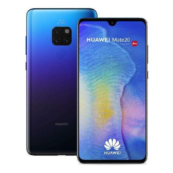 Huawei Mate 20 Impecable En Caja - Libre De Fabrica Dual Sim