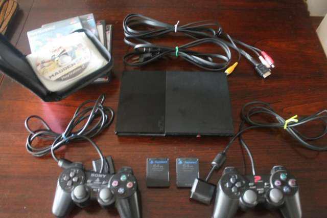 Playstation 2 slim chipeada 2 en Rosario