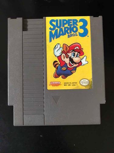 Súper Mario Bros 3 Juegos De Nintendo Nes Ntsc Original