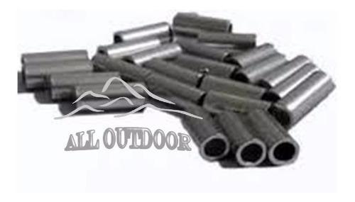 Tubitos De Aluminio Para Armado De Lider Paq. X 200 Unid.