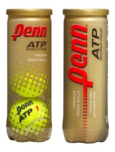 Tubo Pelotas Tenis Penn Atp Pack X 2 Unidades