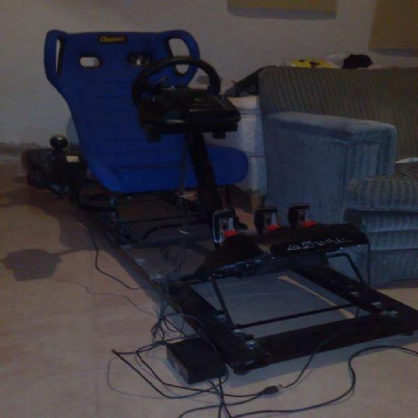 Vendo simulador con logitech g25 para pc ps3, xbox, wii, ps4