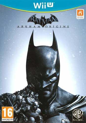 Batman Arkham Origins Juego Nintendo Wii U Físico Nuevo
