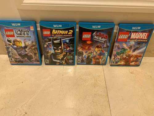 Juegos Nintendo Wii U Originales Lego