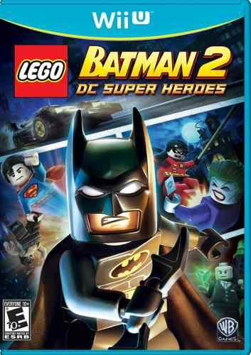 Lego Batman 2 Juego Nintendo Wii U Físico Nuevo Sellado