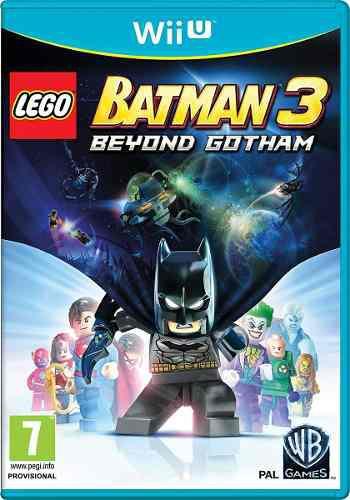 Lego Batman 3 Juego Nintendo Wii U Físico Nuevo Sellado