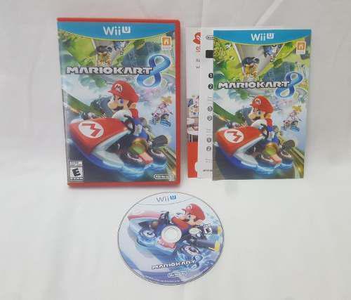 Mario Kart 8 Juego Nintendo Wii U Original Completo