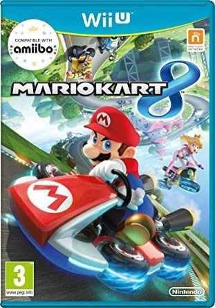 Mario Kart 8 Para Nintendo Wii U Juego Físico Usado