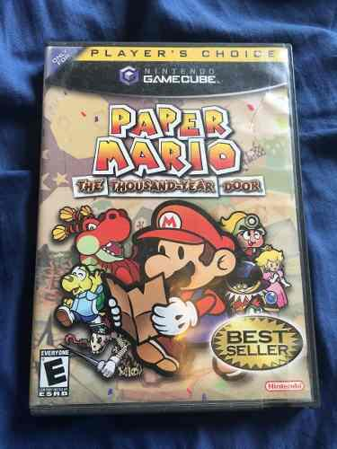 Paper Mario The Thousand Year Door Impecable Como Nuevo