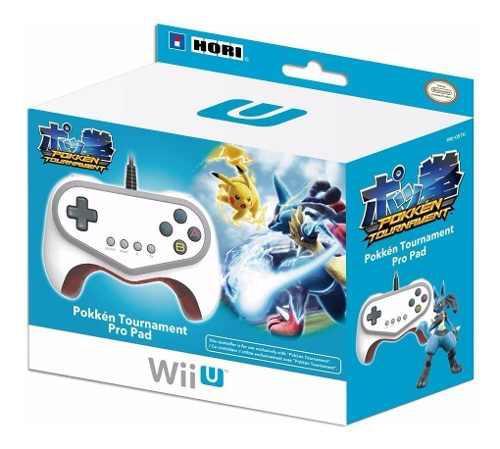 Pokken Tournament Hori Pro Controller Nuevo Wii U Dakmor