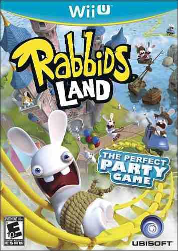 Rabbids Land Juego Nintendo Wii U Físico Nuevo Sellado