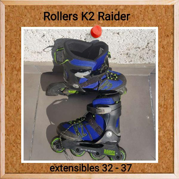 Rollers K2 extensibles 32-37