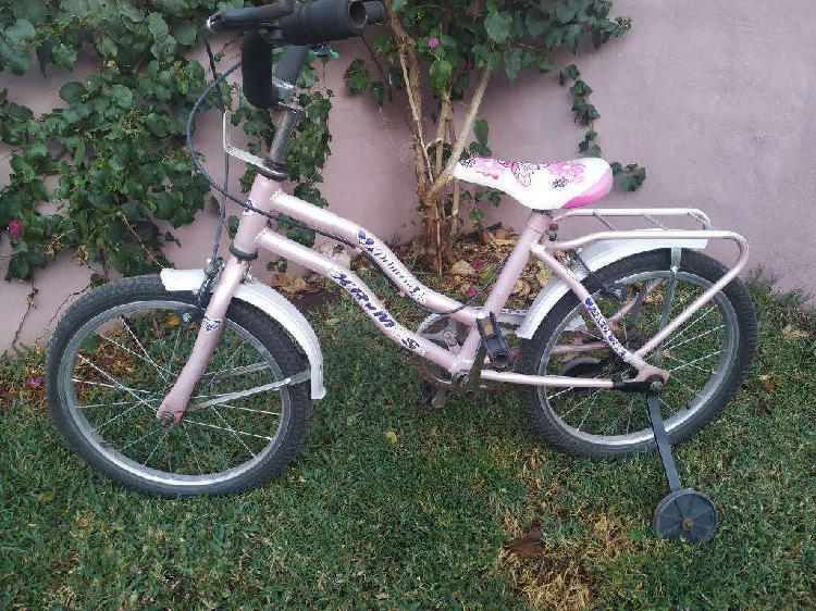 Vendo Bicicleta Niña Impecable