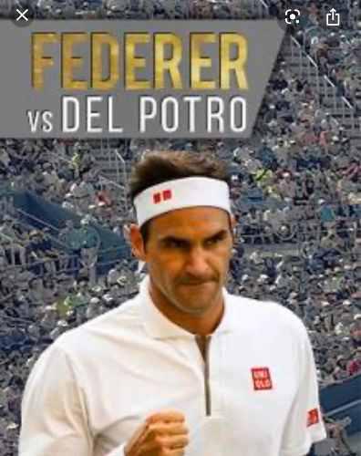 2 Entradas Del Potro Federer. El Precio Es Por Las 2