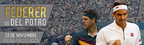 2 Entradas Para Federer Vs Del Potro Platea 20/11