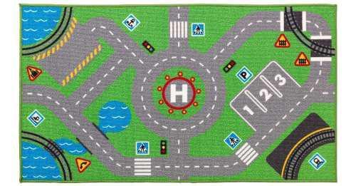 Carpeta Infantil Alfombra Pista Calles Autos Antideslizante
