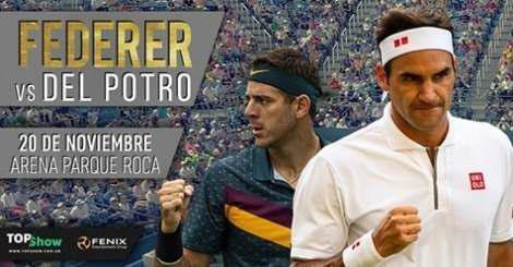 Entrada Federer Del Potro 20 Noviembre 2019 - Codo Alto N