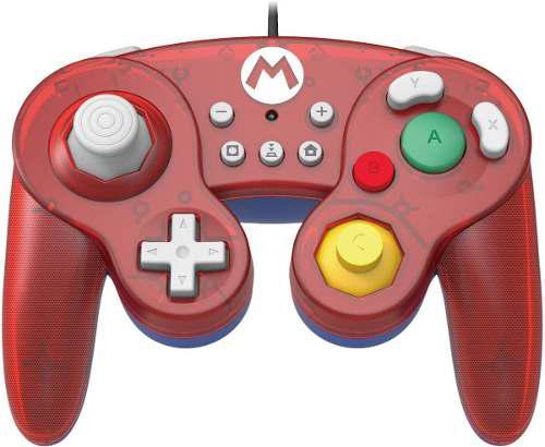 Joystick Battle Pad Gamecube Mario - Nintendo Switch - Nuevo