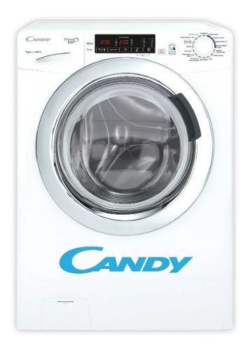 Lavarropas Candy Gvs149 Smart 9kg 1400 Rpm Blanco