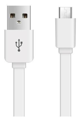 Cable Plano Reforzado Micro Usb Celular Tablet Oferta 2.0a