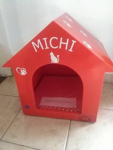 Cucha Plástica Para Mascotas Perro O Gato - Exclusivo