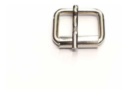 Hebilla Rolo 15mm X 100u. Ideal Para Collares De Mascotas.